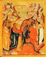 Icona della Resurrezione di Lazzaro